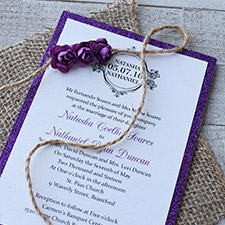 Wedding Invitation Example image #3